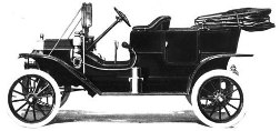 Ford Model T, five passenger touring car