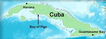 Bay of Pigs Map