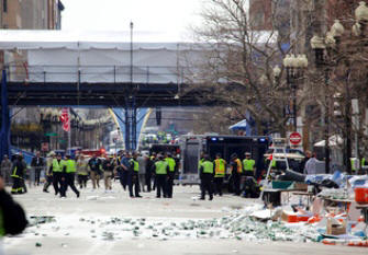 Boston Marathon bombing: image from nsf.gov