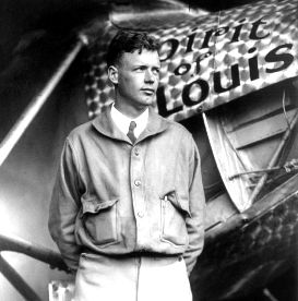 Early Aviation - Picture of Charles Lindbergh
