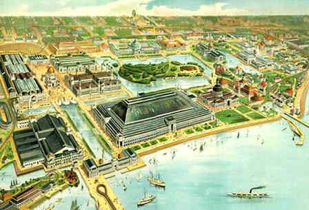 Chicago World's Fair Map