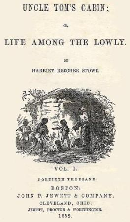 Cover of Uncle Tom's Cabin by Harriet Beecher Stowe