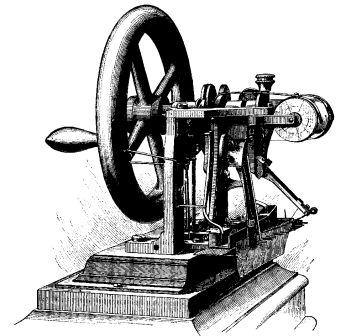 Picture of Elias Howe Sewing Machine
