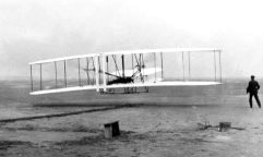 Wright Brothers First Powered Flight