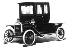 Ford Model T, two passenger coupe