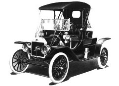 Ford Model T, three passenger roadster
