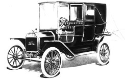 The engine was capable of running on gasoline kerosene or ethanol ? The picture on the right is a Ford Model T six passenger town car  sc 1 st  American Historama & Henry Ford and the Model T: US History for Kids *** markmcfarlin.com