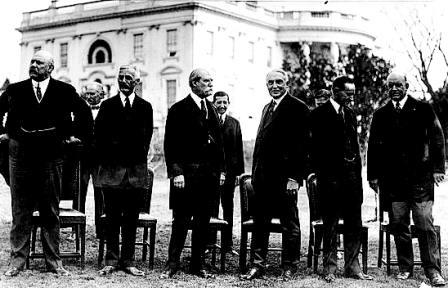 Members of the Harding Cabinet
