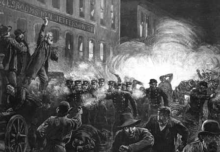 Haymarket Square Riot and Bombing