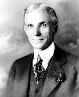 Henry Ford - photo taken in 1919