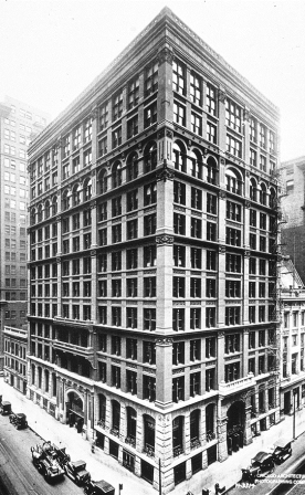 The First Skyscraper - Home Insurance Building, Chicago