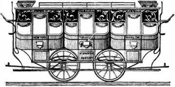 "The ""John Mason"" Horse Car and the Rail-Road"