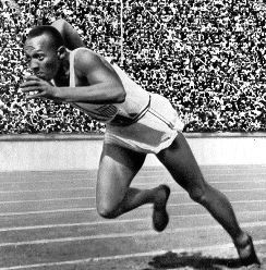 Sports in the 1920s - Picture of Jesse Owens
