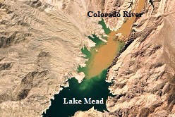 Hoover Dam: Colorado River and Lake Mead