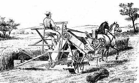 the life of cyrus hall mccormick and his invention of the mechanical reaper Obed hussey, us inventor of a full-sized grain reaper that was in wide use throughout illinois, maryland, new york, and pennsylvania until cyrus hall mccormick's reaper captured the market hussey had invented machines for grinding corn and crushing sugarcane before he began.