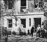 Bomb attack on the home of Attorney General A. Mitchell Palmer