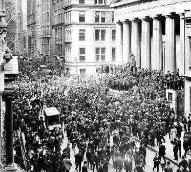 Wall Street and the Panic of 1907