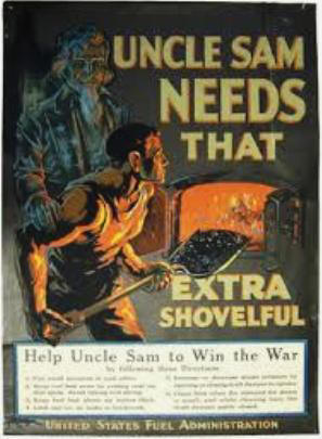 WW1 Mobilization: Fuel Administration Poster