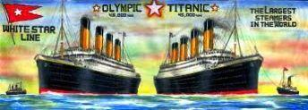 Olympic and the Titanic Sister Ship