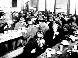 Great Depression Poverty: Soup Kitchen