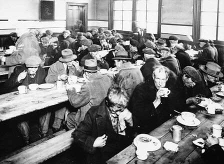 Soup Kitchen In America During The Great Depression