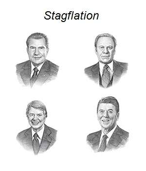 Stagflation - Nixon, Ford, Carter and Reagan