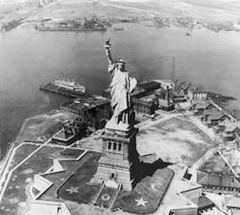 statue of liberty facts for kids  statue of liberty photo taken in 1917