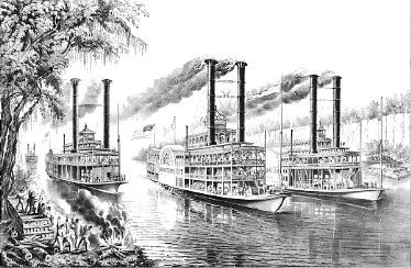 Steamboats of the 1800s
