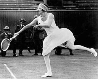 1920's Fashion - Picture of Suzanne Lenglen