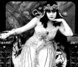 Famous Flappers - Picture of Theda Bara as Cleopatra