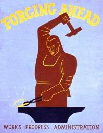 Works Progress Administration (WPA) Poster