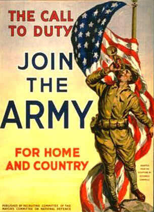 American World War One poster