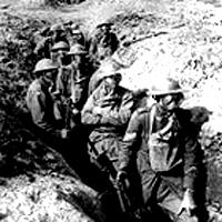 American Battles in WW1 - Troops in WWI Trenches